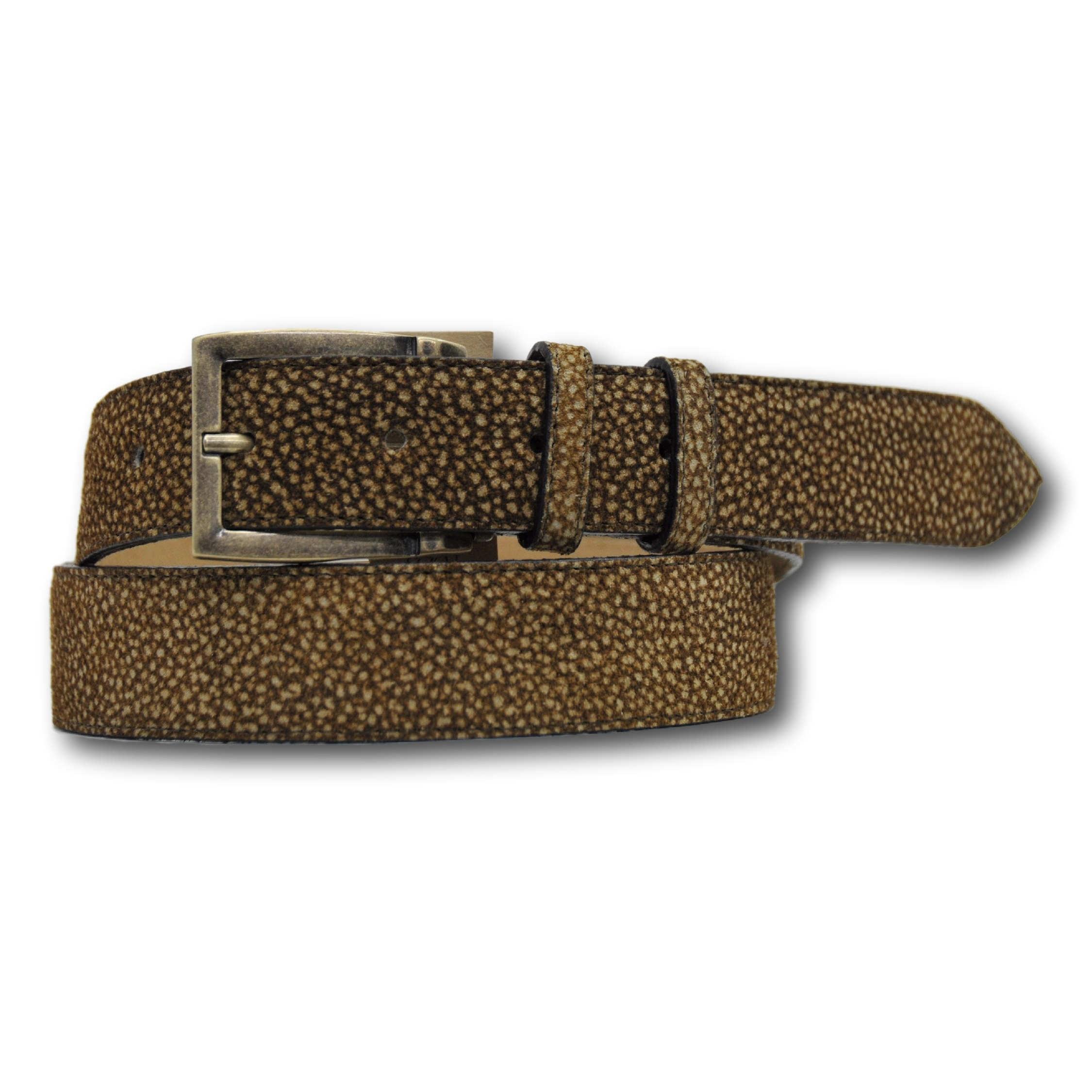 Cintura donna in vera pelle di tapiro