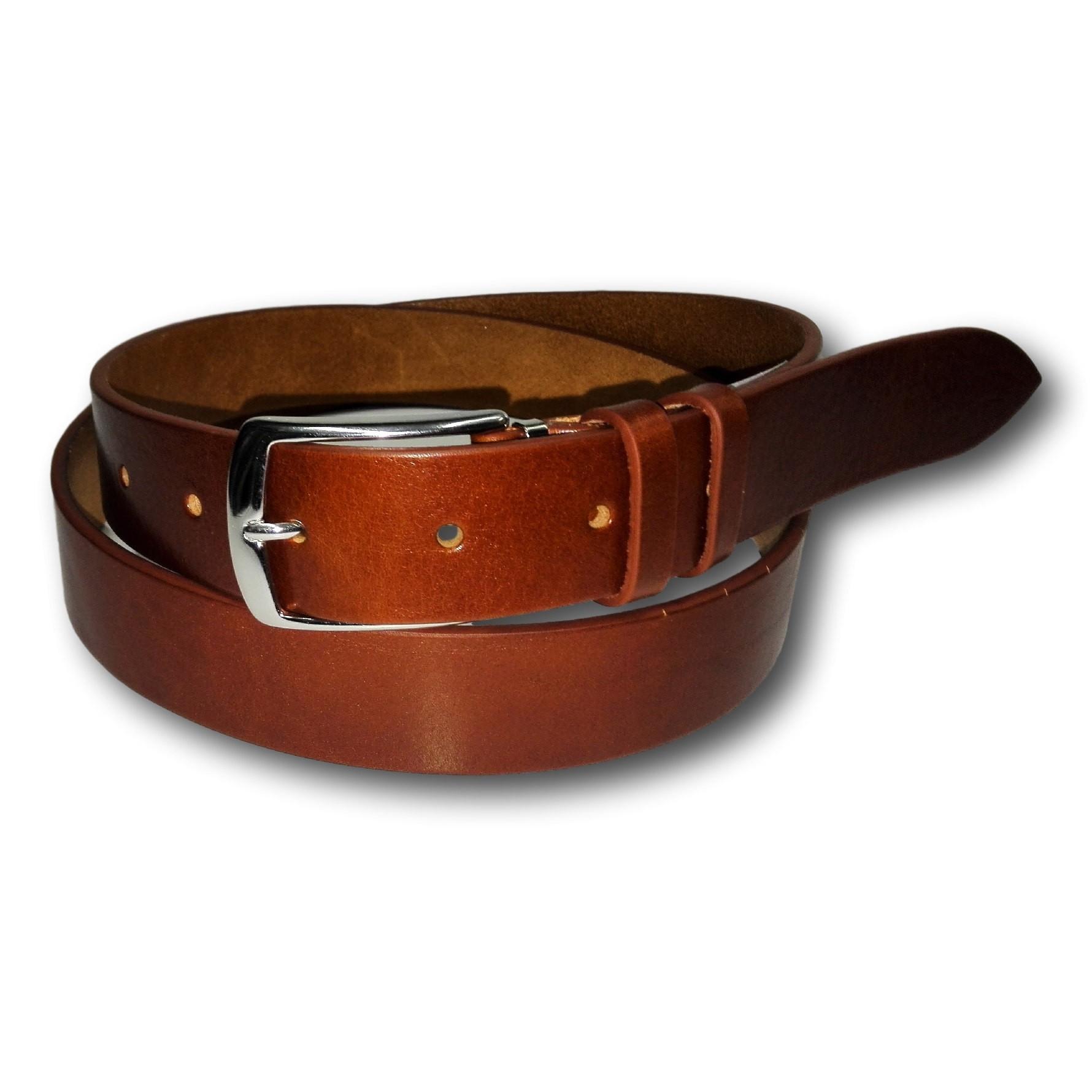 Cintura per uomo in vero cuoio