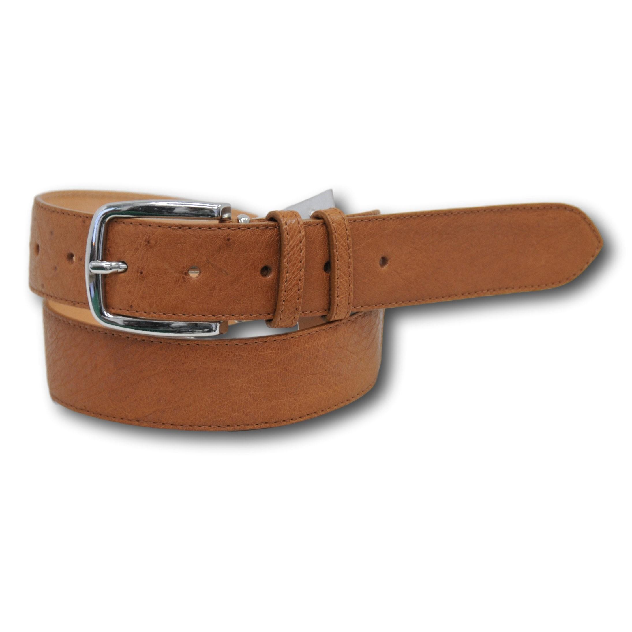 Cintura in vera pelle di stuzzo