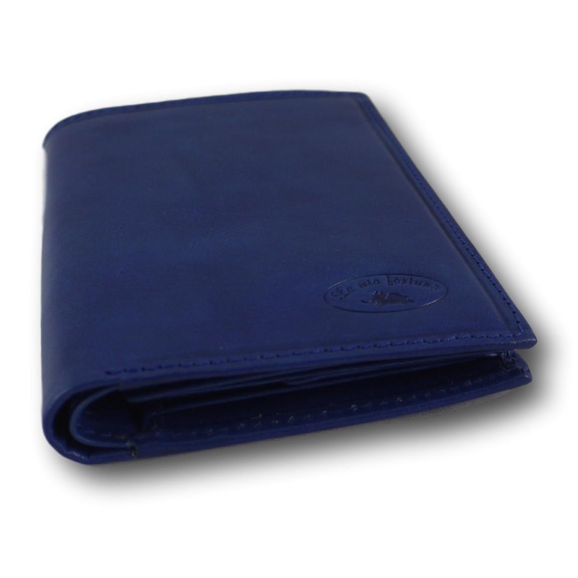 Portafoglio blue chiuso